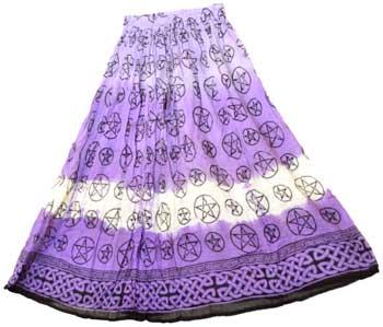 Pentagram skirt